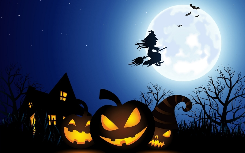 Halloween fun on the internet the one source for all things Halloween Including costumes pumpkins monsters vampires witches werewolves ghosts scary tales